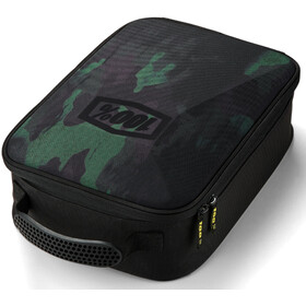 100% Goggle Case, camo black/green
